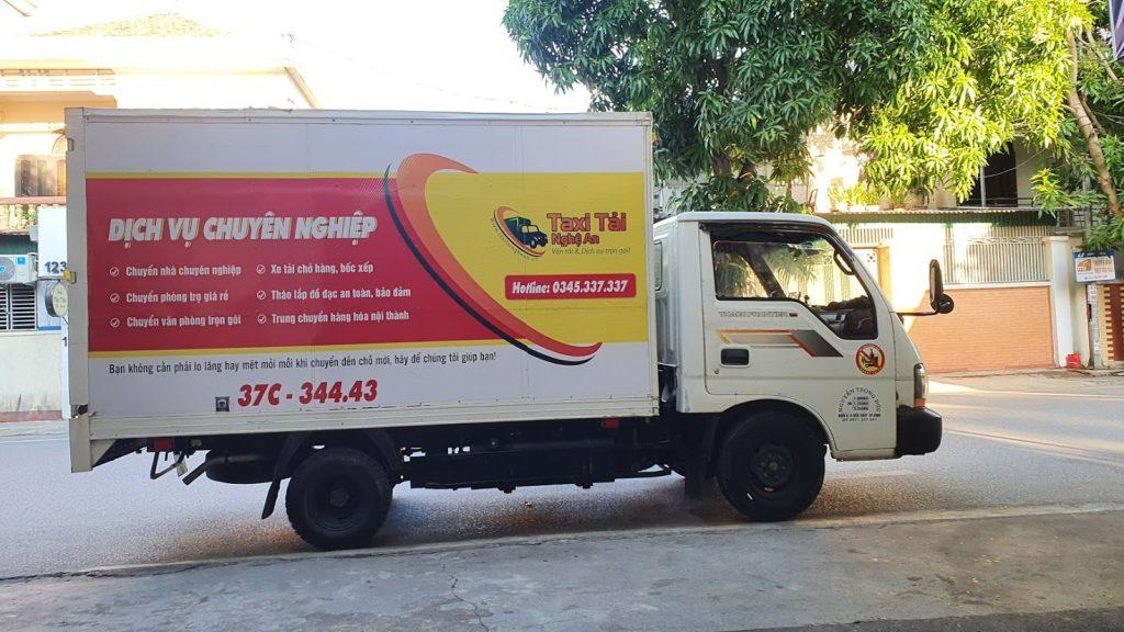 Cho thuê xe tải Thành phố Vinh